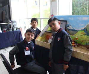 alumnos olimpiada robotica 2018