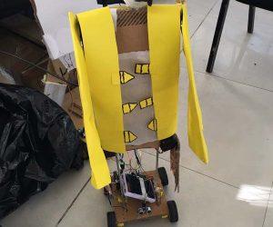 robot construido alumnos ore 2018